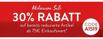 Bild zu Adler Mode: 30% zusätzlich Rabatt auf bereits reduzierte Ware ab 75€