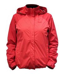 Bild zu Jack Wolfskin Damen Trekkingjacke Vellau rot (S/M) für 44,42€ (Vergleich: 72,15€)