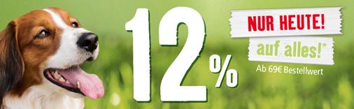 Bild zu Fressnapf: heute 12% Rabatt auf alles ab 69€ Gesamtbestellwert
