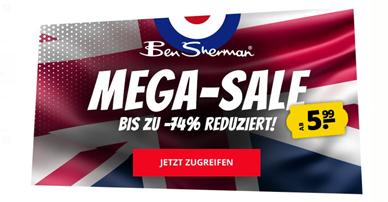 Bild zu BenSherman Sale mit bis zu 74% Rabatt, so z.B. Hemden für 19,99€