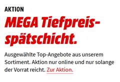 """Bild zu MediaMarkt """"MEGA Tiefpreisschicht"""", so z. B. SONY PS4 Wireless Headset Navy Blue – 500 Million Limited Edition für 89€"""