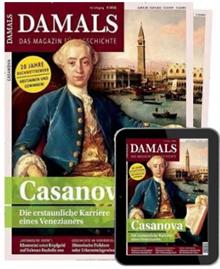 """Bild zu [Top] Jahresabo (12 Ausgaben) der Zeitschrift """"Damals"""" inkl. E-Kombi ab 114,08€ + bis zu 115€ als Prämie"""
