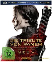 Bild zu Die Tribute von Panem – Complete Collection [4 BRs+ 2 Blu-ray 3Ds] für 20,74€ (Vergleich: 27,99€)