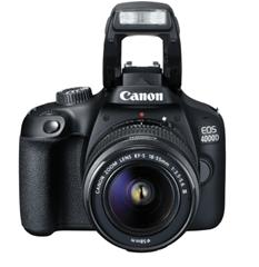 Bild zu CANON EOS 4000D Kit inkl. Tasche und 16GB Speicherkarte Spiegelreflexkamera, 18 Megapixel, Full HD, 18-55 mm Objektiv (EF-S) für 199€