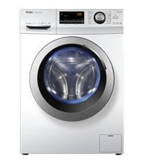 Bild zu Haier HW80-BP14636 Waschmaschine – Weiß, 8 kg, 1400 U/Min, A+++ für 299€ (Vergleich: 398,99€)