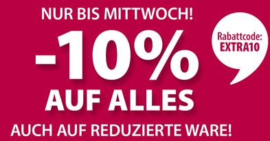 Bild zu Dänisches Bettenlager: 10% Rabatt auf Alles (auch auf Sale-Ware)
