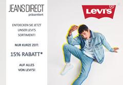 Bild zu Jeans-Direct: 15% Rabatt auf alle Levi´s Artikel