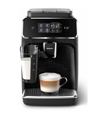 Bild zu PHILIPS EP 2231/40 2200 LatteGo Kaffeevollautomat Matt-Schwarz/Klavierlack-Schwarz für 399€