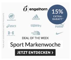 Bild zu Engelhorn: 15% Extra Rabatt auf ausgewählte Markenartikel