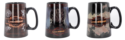 Bild zu 2er Pack Game of Thrones Keramik-Krüge von Nemesis Now für 19,49€ (Vergleich: 41,46€)