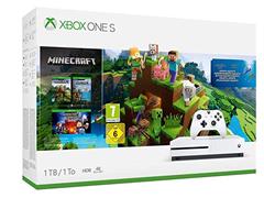 Bild zu Xbox One S 1TB Konsole inkl. Minecraft für 184,15€