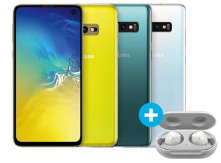 Bild zu Samsung Galaxy S10, S10+ oder S10e in verschiedenen Tarifen im o2 Netz inkl. gratis Galaxy Buds bei Sparhandy.de