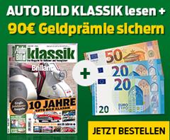Bild zu [Top] 2 Jahre (24 Ausgaben) AutoBild Klassik für 105,60€ lesen + 90€ Verrechnungsscheck als Prämie erhalten