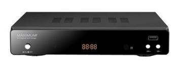 Bild zu MAXIMUM XO-30S HDTV Sat-Receiver (HDTV, DVB-S, DVB-S2, Schwarz) für 25€ (Vergleich: 34,89€)