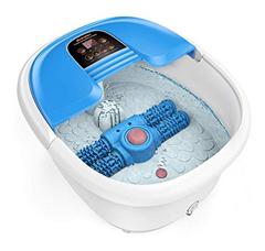 Bild zu AREALER elektrisches Fußbecken (Massage, Sprudelmassage, Peeling) für 49,99€