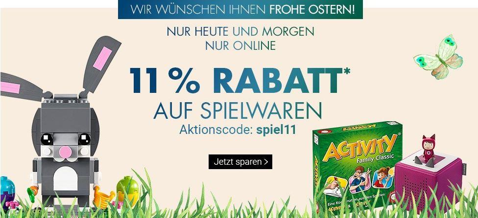 Bild zu Karstadt: 11% Rabatt auf Spielwaren
