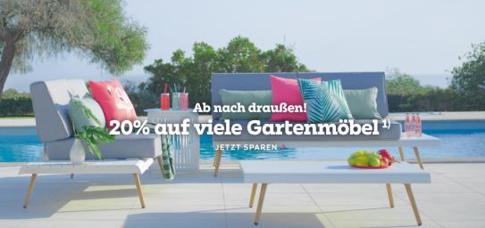 Bild zu Mömax: 20% Rabatt auf viele Gartenmöbel