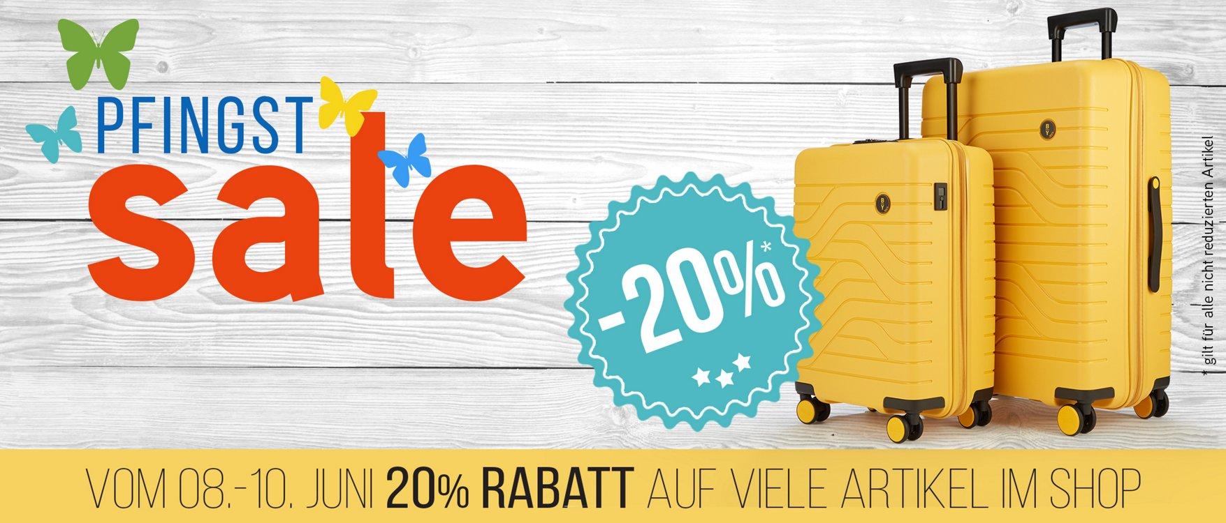 Bild zu Koffer-Direkt: 20% Rabatt auf nicht reduzierte Artikel