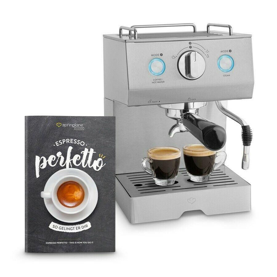 Bild zu Espressomaschine Springlane Kitchen Emilia für 89,90€ (Vergleich: 119€)