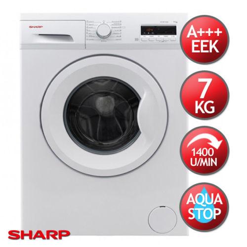 Bild zu 7 kg Waschmaschine Sharp ES-FB7143W3A-DE für 249,90€ (Vergleich: 284,99€)