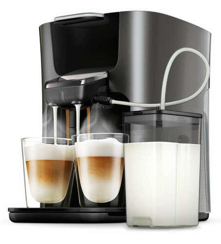 Bild zu [B-Ware] Philips Senseo Latte Duo Plus HD6574/50 Kaffeepadmaschine für 139,99€ (Vergleich: 172,38€)
