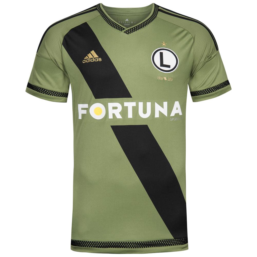 Bild zu Legia Warschau Adidas Herren Auswärts Trikot S86376 für 8,88€ zzgl. 3,95€ Versand