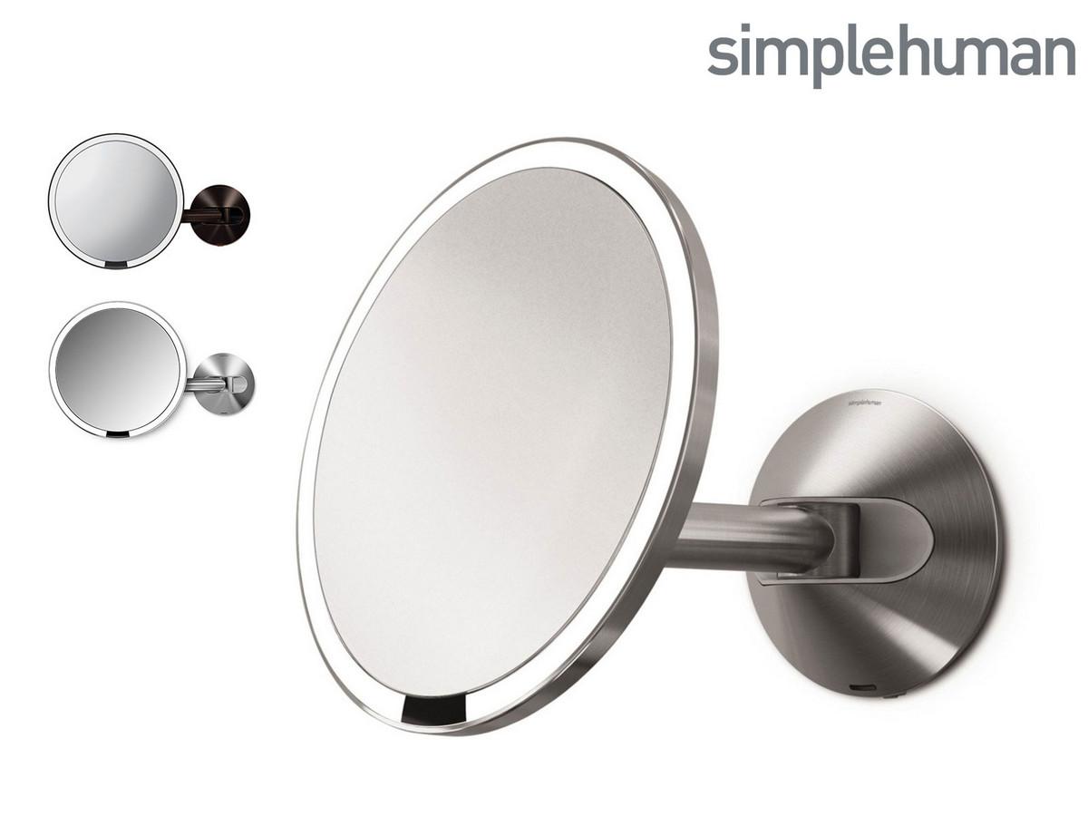 Bild zu Simplehuman Spiegel mit Lichtsensor für 145,90€ (Vergleich: 165,59€)