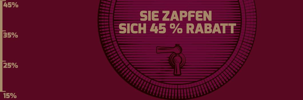Bild zu Weinvorteil: 45% Rabatt auf alle nicht reduzierten Weine