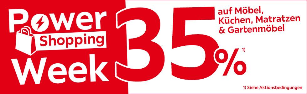 Bild zu XXXLutz Online-Shop: 35% Rabatt auf Möbel, Küchen, Matratzen und Gartenmöbel