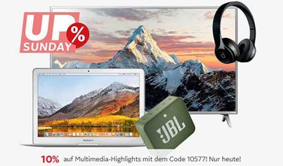 Bild zu Otto.de: 10% Extra-Rabatt auf ausgewählte Multimedia Artikel, so z.B. JBL »E50BT« Over-Ear-Kopfhörer für 50,94€ (VG: 76,49€)