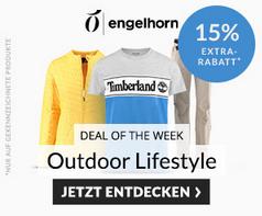 Bild zu Engelhorn Sports: 15% Extra Rabatt auf Outdoor, Bike und Lifestyle