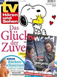 """Bild zu Jahresabo (52 Ausgaben) Zeitschrift """"TV Hören und Sehen mit TV World"""" für 119,80€ + bis zu 120€ Prämie"""