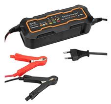 Bild zu Mbuynow 6V/12V vollautomatisches Auto-Batterieladegerät mit LCD Anzeige für 15,99€