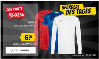 Bild zu SportSpar: adidas Herren Torwwarttrikot für je 6,66€ + 3,95€ Versand