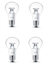 Bild zu 4er Pack Philips LED E27 Birne (6W = 40W) 2700K für 8,49€ (Vergleich: 10,84€)
