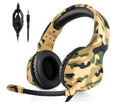 Bild zu DIWUER Gaming Headset mit Mikrofon mit 3,5mm Stecker für PS4, Xbox One, PC etc. für 16,89€