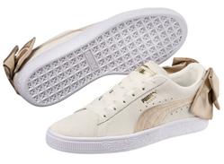 Bild zu PUMA Suede Bow Varsity Damen Sneaker weiß für 23,92€ (Vergleich: 38,49€)