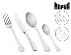 Bild zu Mepra Besteckset 24-teilig (Boston, Sveva oder Carinzia) für je 35,90€ (Vergleich: 49,99€)