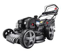 Bild zu BRAST Benzin Rasenmäher (Briggs & Stratton Motor, 46cm Schnittbreite) für 206,10€ (Vergleich: 259€)
