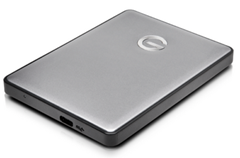 Bild zu G-TECH G-Drive Mobile USB-C 1TB Space Gray Retail GDMUC10001BHB (externe Festplatte) für 45€ (Vergleich: 99€)