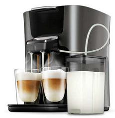 Bild zu PHILIPS Senseo Latte Duo Plus HD6574/50 Kaffeepadmaschine + Milchbehälter für 111€ (Vergleich: 159,11€)