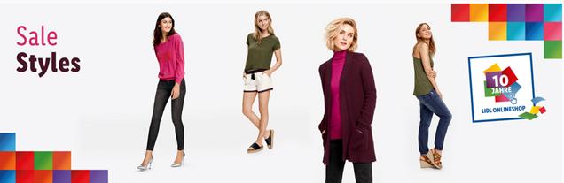 Bild zu Lidl: 40% Extra-Rabatt auf Styles und kostenloser Versand ab 20€, so z.B. 4 Jeans für 14,38€