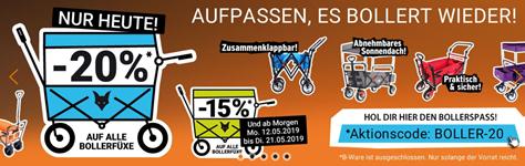 Bild zu Fuxtec: 20% Rabatt auf Bollerwagen