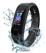 Bild zu AISIRER Fitness-Tracker mit Pulsmesser (Wasserdicht IP68, 0.96 Farbbildschirm, Schrittzähler, Schlafmonitor) für 18,59€