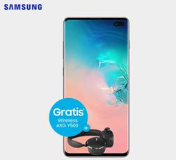Bild zu Samsung Galaxy S10+ inkl. AKG Y500 Wireless-Kopfhörer für 99€ mit Vodafone Tarif (7GB LTE, SMS und Sprachflat) für 36,99€/Monat