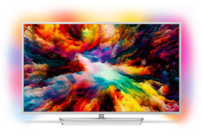 Bild zu PHILIPS 55PUS7363 LED TV (Flat, 55 Zoll, UHD 4K, SMART TV, Ambilight, Android TV) ab 644€ (Vergleich: 800€)