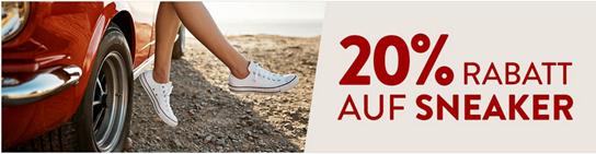Bild zu Galeria Kaufhof: nur heute 20% Rabatt auf Sneaker