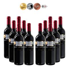 Bild zu Weinvorteil: 24 Flaschen Calle Principal – Tempranillo-Cabernet Sauvignon – Vino de la Tierra Castilla für 71,76€ = 2,99€ pro Flasche