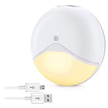 Bild zu Elrigs Nachtlicht mit Bewegungsmelder und Dämmerungssensor (wiederaufladbar) für 10,39€