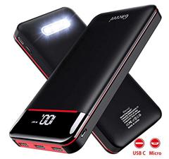 Bild zu Gnceei Powerbank (Tragbares Ladegerät, 25000mAh, 3 USB-Ausgang & Dual-Eingang) für 22,43€